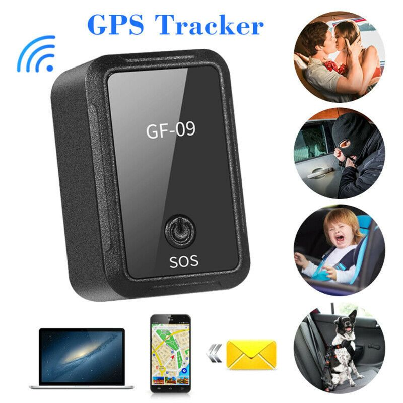 GF09 Mini Car APP GPS Locator Adsorption Recording Anti-dropping Device Voice Control Recording Real-time Tracking