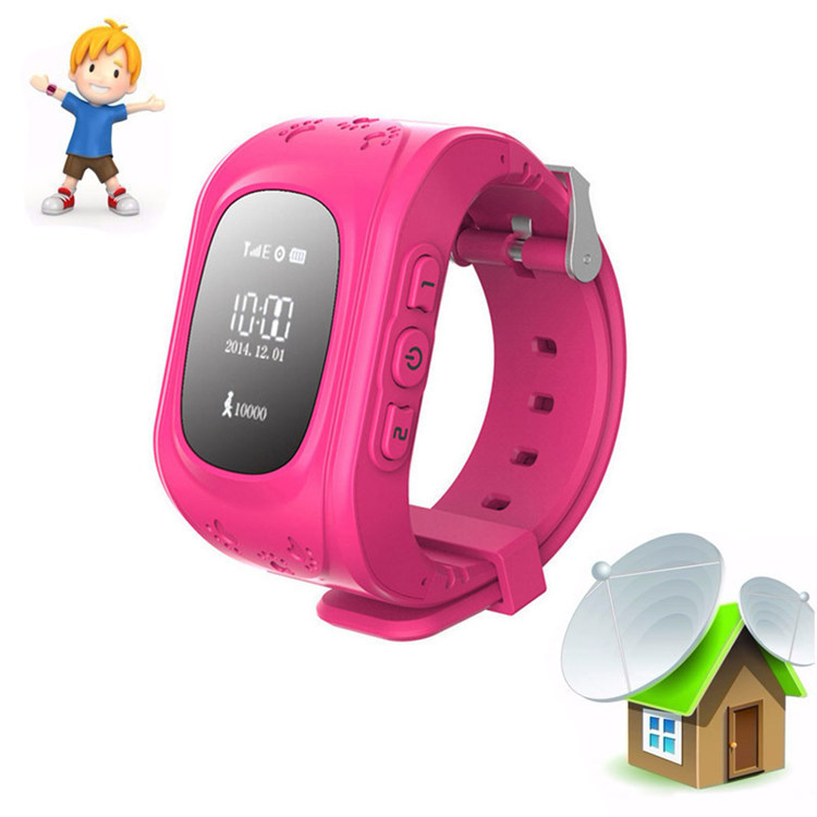 Child GPS Tracker Smart Talk Watch SIM Phone Q50 ...
