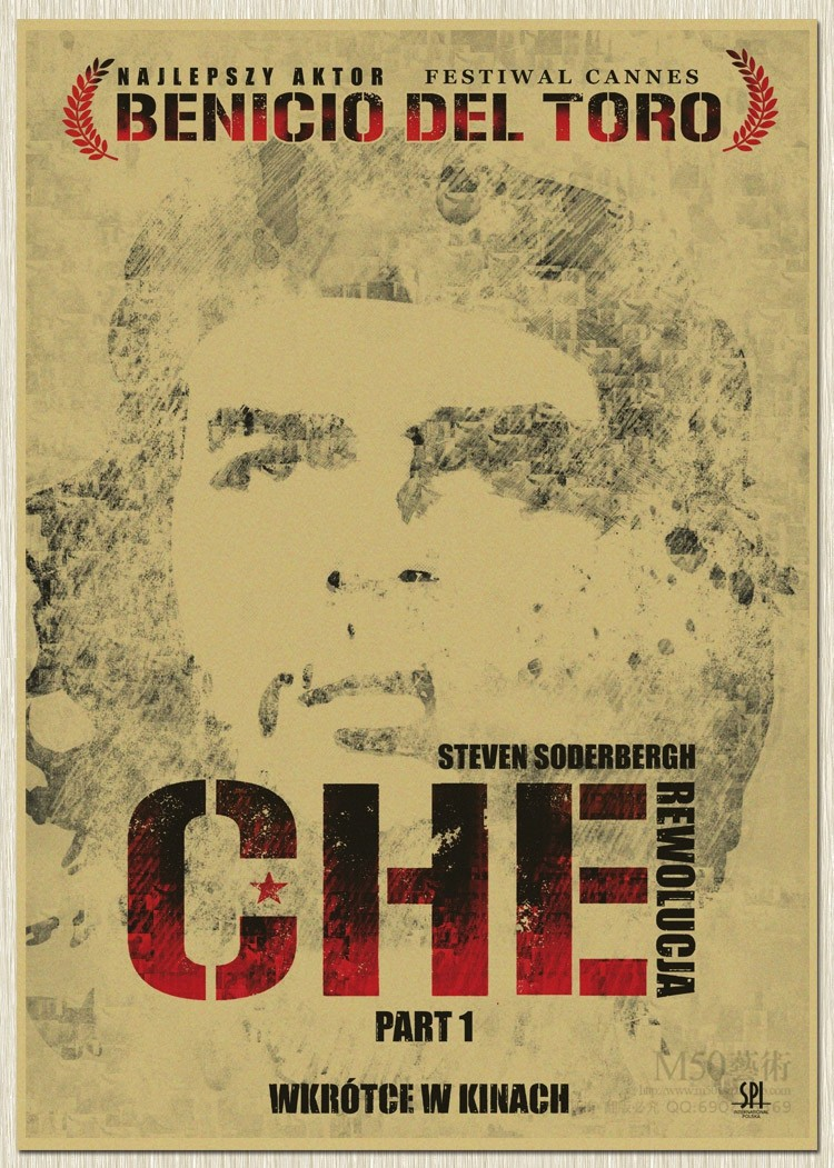 Vintage Che Guevara posters old paper Wall Poster Big Room ...