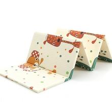 XPE Folding Baby Play Мат Сканирование Pad Утолщение Младенческая Главная Гостиная Складная скалолазалка Cute Style Защита детей