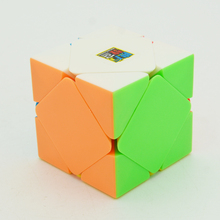 2017 New Moyu Mofangjiaoshi MF Classroom Skewb Cube Magic Cube Twist Puzzle Speed Cube Special Toys