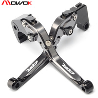 Motorcycle CNC Aluminum Adjustable Brake Clutch Levers For Honda CBR1000RR/FIREBLAD 2008 2016 With CBR logo
