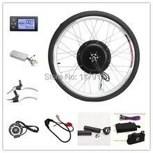 """48v1000w набор для преобразования заднего электрического велосипеда с ЖК-дисплеем, набор для электровелосипеда 2"""" 24"""" 2"""" 700C 28"""" 29"""""""