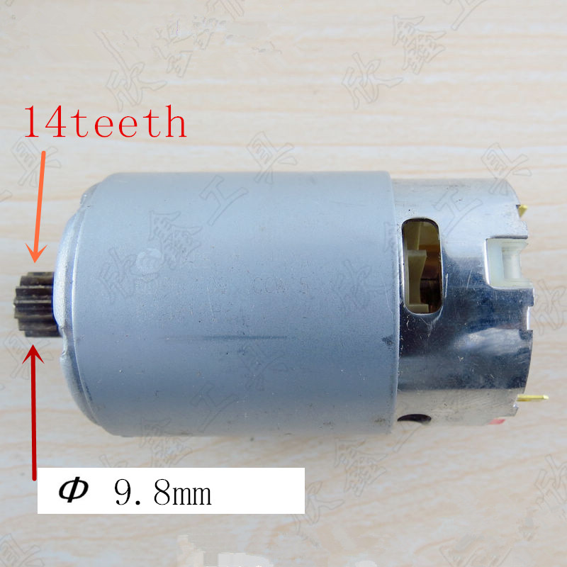 14 Teeth Motor DC 9.6V 12V Replacement For MAKITA 6260D 629815-2 6260DWE 6261DWE 6260DWPE 6261DWPE 6261D Drill Motor Machine