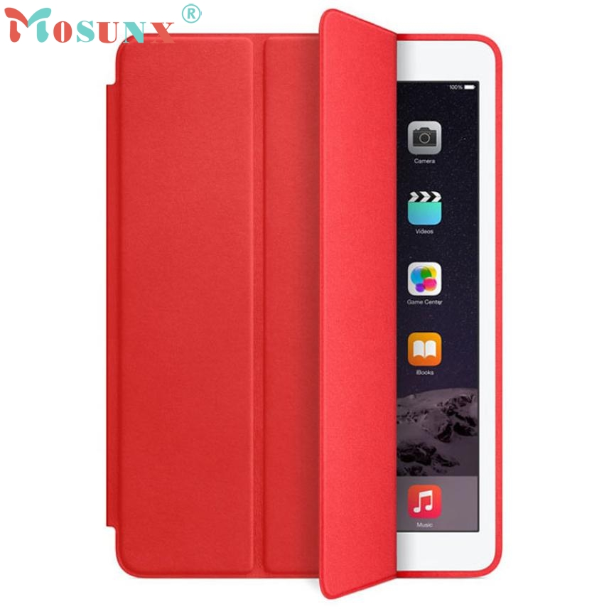 U 2 Slim Genuine Leather Smart Case Cover Stand Film Pen Set For iPad Air N0224