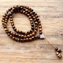 Handmade 6 mét đá Tự Nhiên bead với Alloy charm Shape 99 Hạt cầu nguyện Hồi Giáo Hồi Giáo Tasbih Allah Mohammed Mân Côi cho phụ nữ người đàn ông