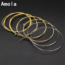 Acoustic Guitar Strings set 010 012 Steel Phosphor Bronze Strings Acoustic Wound Guitar Strings Strings A60XL 010-048 6pcs/set