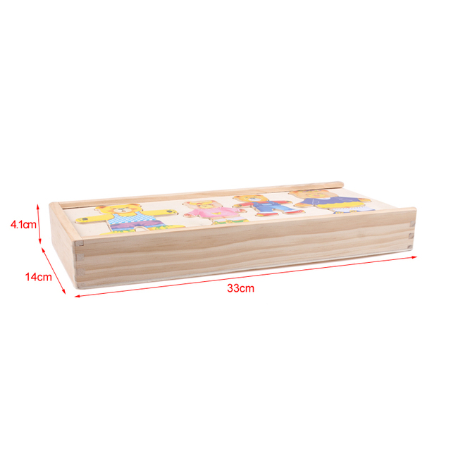 Cheap Wooden Jigsaw Puzzle Game For Children's Early Education