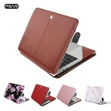 MOSISO Pu レザーの Macbook Air 13 インチ 2018 A1932 マックブックプロ新プロ 13 とバー A1706/A1708
