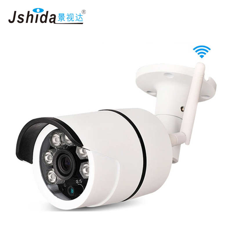 Waterproof IP Camera Outdoor wifi Security CCTV Camera Bullet 2.0MP 1080P Wireless Camera P2P IR Night Vision wistino 1080p 960p wifi bullet ip camera yoosee outdoor street waterproof cctv wireless network surverillance support onvif