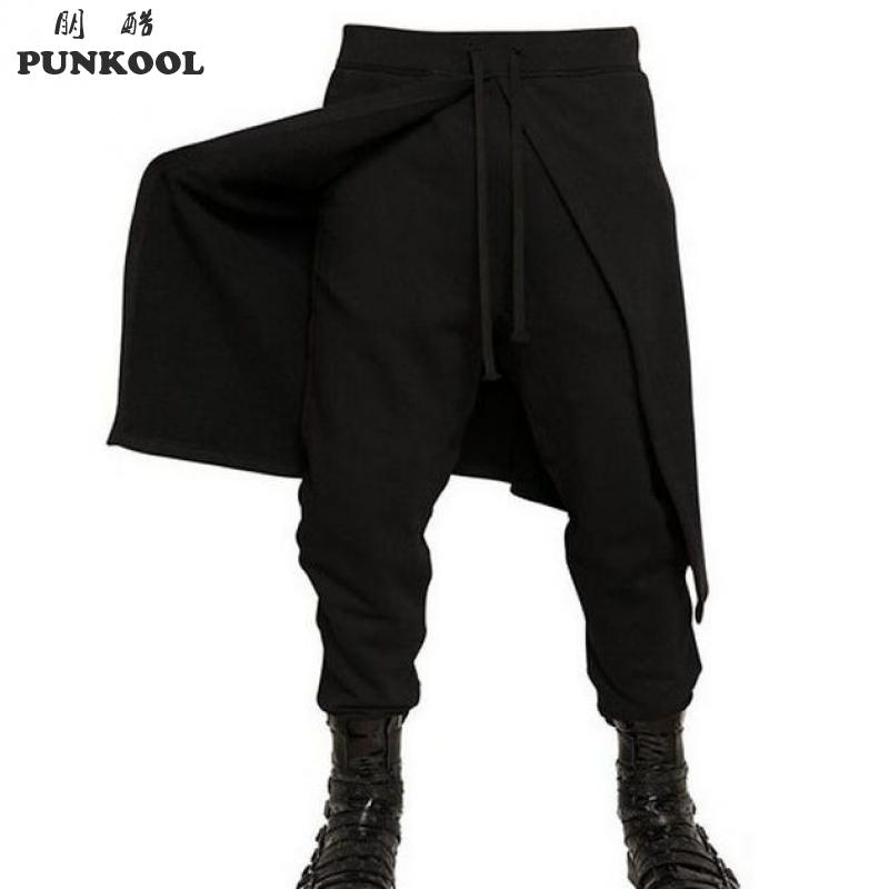 PUNKOOL 2017 Brand Cool Mens Gothic Punk Style Harem Pants ...