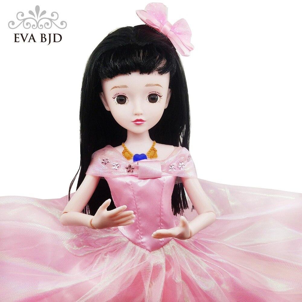 1/3 52 cm poupée articulée similaire à BJD SD poupées 20 pouces en plastique musique jouet chinois parlant 11 joints + 2 ensemble vêtements + chaussures