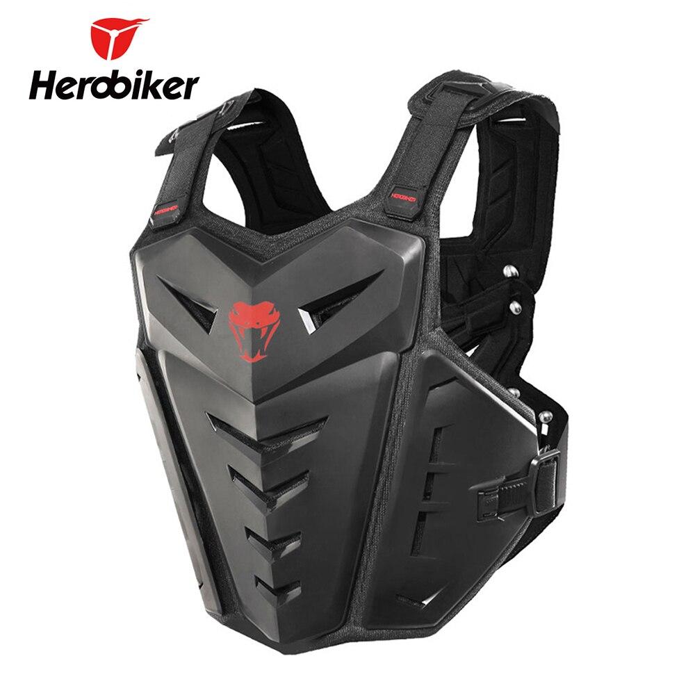 HEROBIKER Moto armure corporelle Moto Motocross gilet Moto armure gilet dos poitrine protecteur Motocross armure équipement de protection