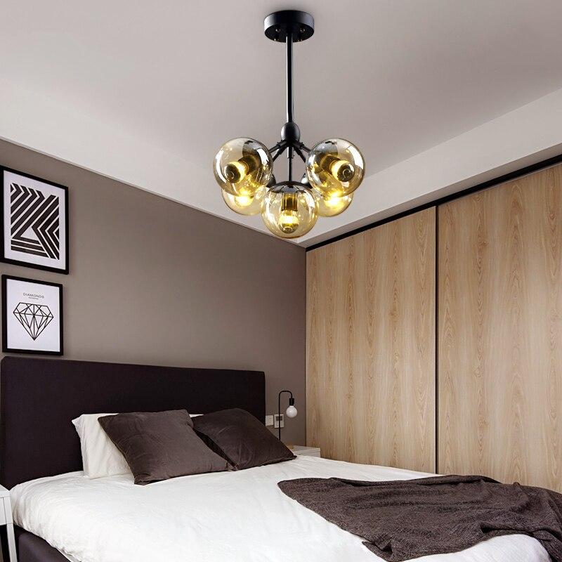 Американский стиль люстра Ресторан огни промышленные подвесные светильники Ретро освещение гостиной спальня люстры
