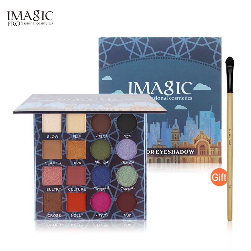 IMAGIC Professional Shimmer Matte Eyeshadow