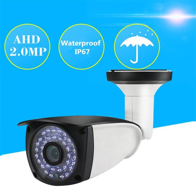 Aufstrebend Sicherheit Cctv 1080 P Ahd Kamera Im Freien Wasserdichte Kugel Kameras Tag & Nacht Analog High Definition Überwachung Hd 3,6mm Objektiv Roboter