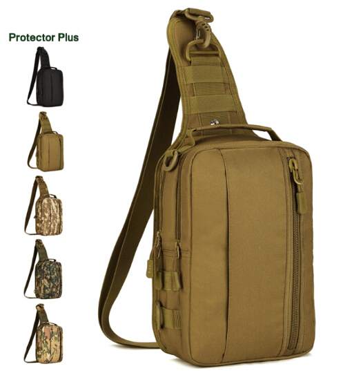 Men Women Tactical Bag Chest Pack Waterproof Military Defense Ultralight Range Outdoor Sports Nylon Single Shoulder Gear In Climbing Bags From