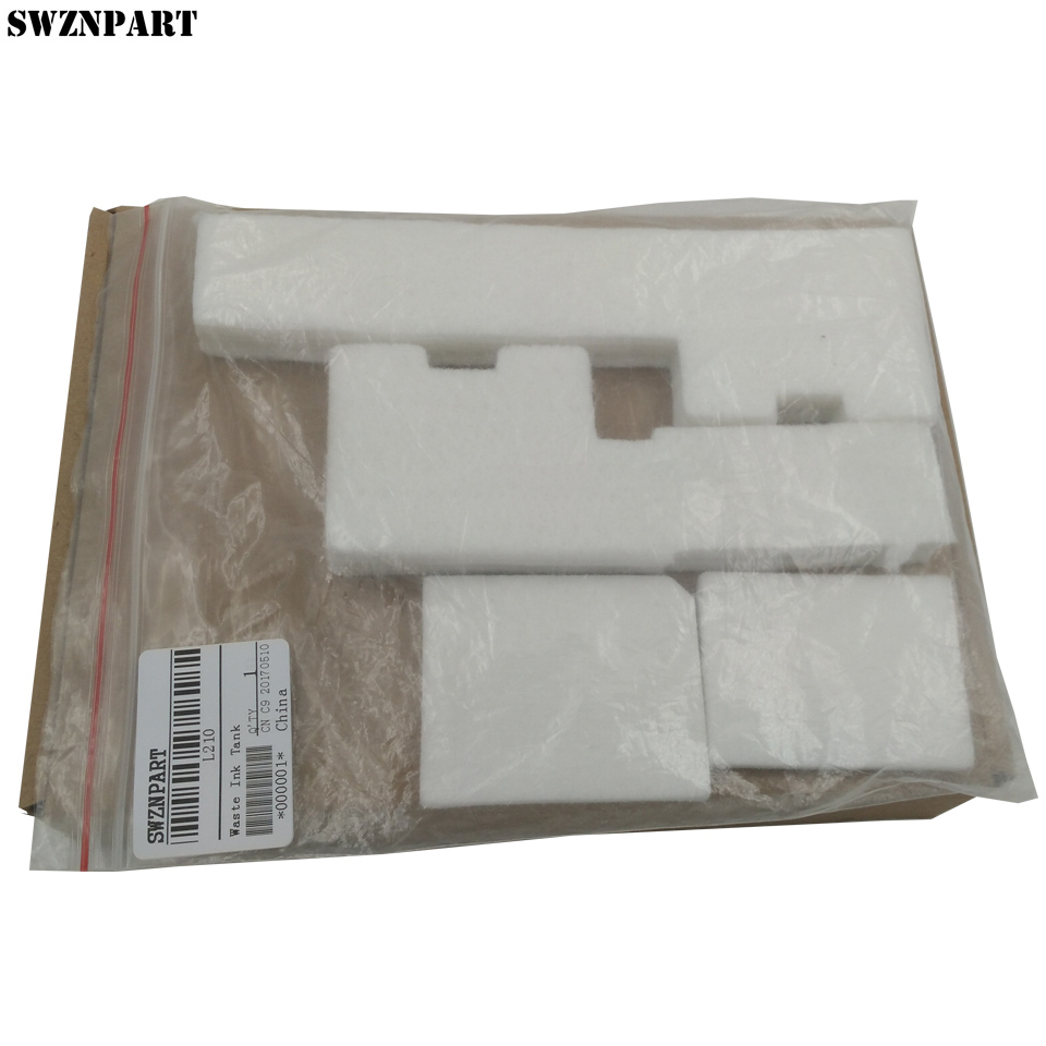 Waste Ink Tank Pad Sponge For Epson L110 L111 L120 L211 L210 L220 L300 L301 L303 L335 L350 L351 L353 L355 L358 L365 L381 L400 baby toys montessori wooden geometric sorting board blocks kids educational toys building blocks child gift