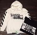 Уличная из термостойкого kpop одежда бренд мужской балахон соответствия пара графический пуловер толстовки черный белый S-XL от белые люди одежда