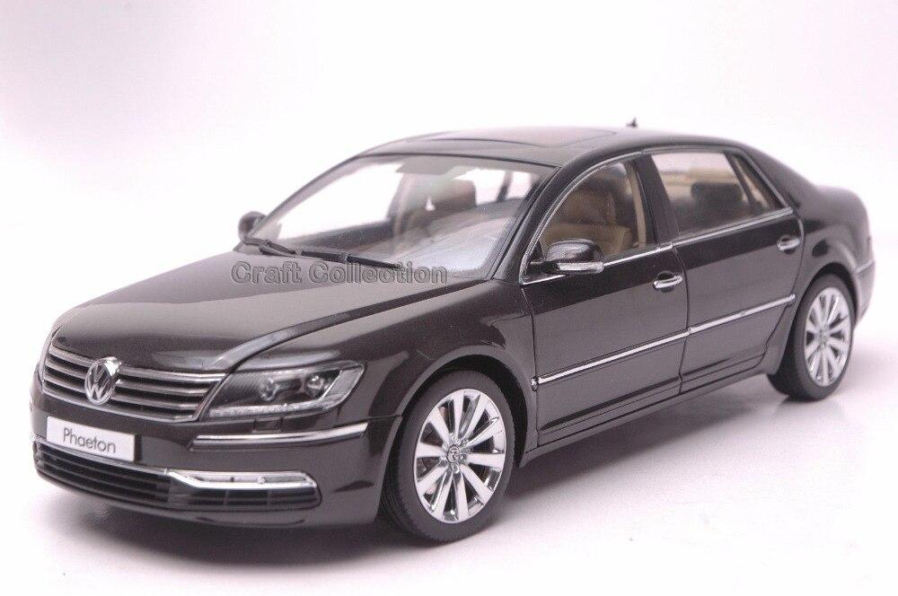 * Black 1:18 Volkswagen VW Phaeton Luxury Sedan Diecast Model Car Modell Auto Classical Collection