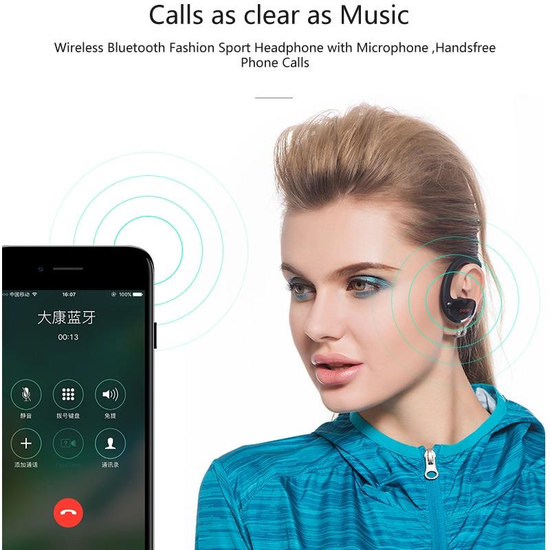 Dacom Athlete Bluetooth 4.1 гарнитура микрофонмен - Портативті аудио және бейне - фото 2