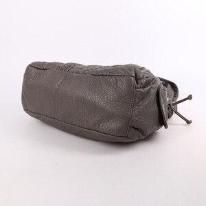 Image 4 - Модная высококачественная повседневная дизайнерская сумка хобо, женские сумки, сумки из мытой искусственной кожи, сумки слинги на плечо для женщин