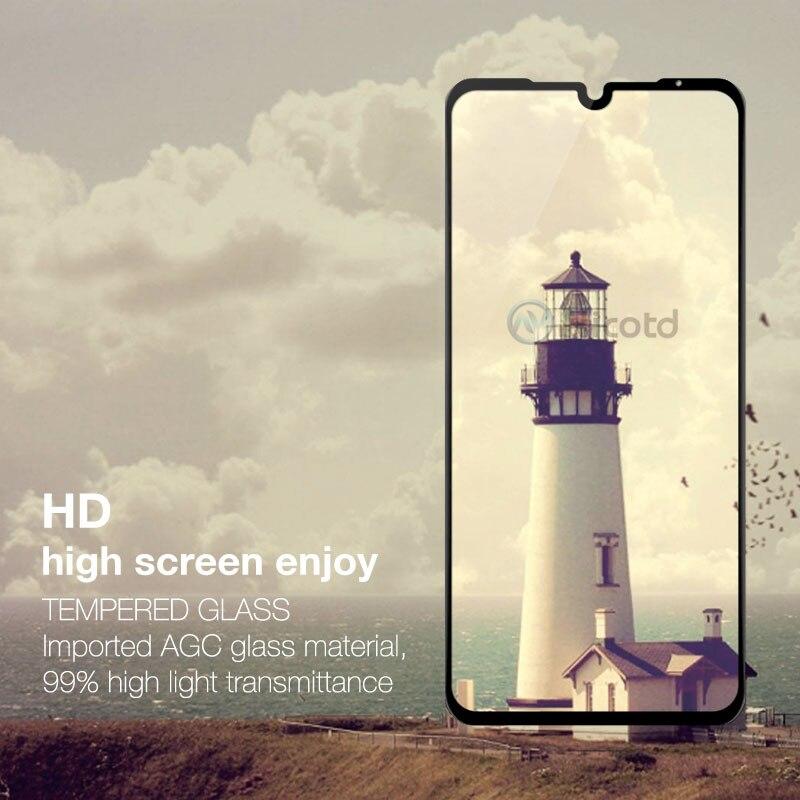 Tempered Glass For Xiaomi Mi 9 Mi8 SE 8lite 9H Screen Protector For Xiomi A2 lite 5X 6X Note7 Full Cover Glass Film Pocophone F1 (4)