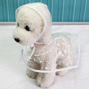 Image 1 - Impermeables capas impermeables transparentes XS XL chubasquero para perros, ropa ligera para perros, accesorios para mascotas, lluvia para cachorros