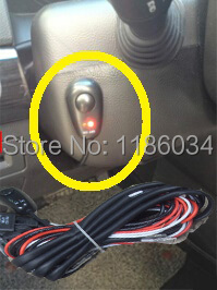 Free ship!HID wire of harness(One with two)with ON/OFF switch+Red/Blue signal light,1pcs order,fit for HID/LED working light! on the open shanghai wing star ship switch kcd6 21n f ip65 waterproof switch 6a 4 foot red 220v