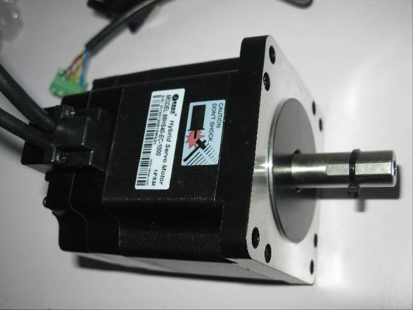 Leadshine 2 phase hybrid servo motor 86hs40 ec 1000 for Nema 34 servo motor