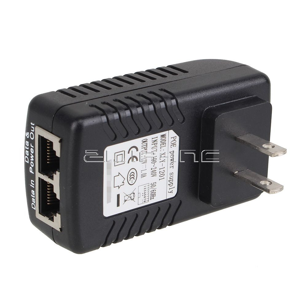 12v 1a poe adapter power over ethernet us standard wall charger rh aliexpress com