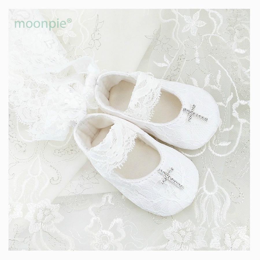 First Walkers Baby Shoes Girls Princess Footwear Cute Button Flower White Polka Dot Girl Shoes First Walkers Soft Sole Sapatos Menina 0-18m To Assure Years Of Trouble-Free Service