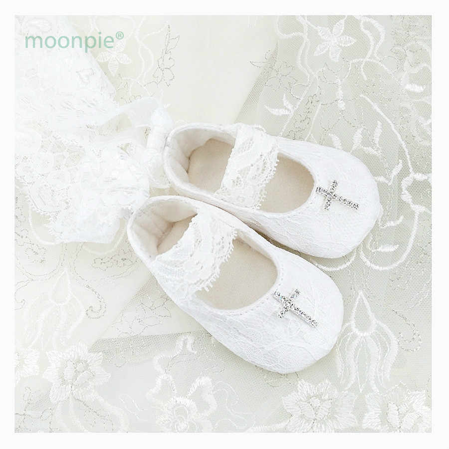 687d48727e65 Customized High quality white baby christening shoes