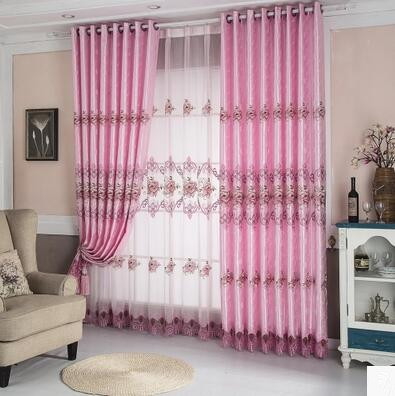 High end European water soluble hollow curtain gauze products living ...