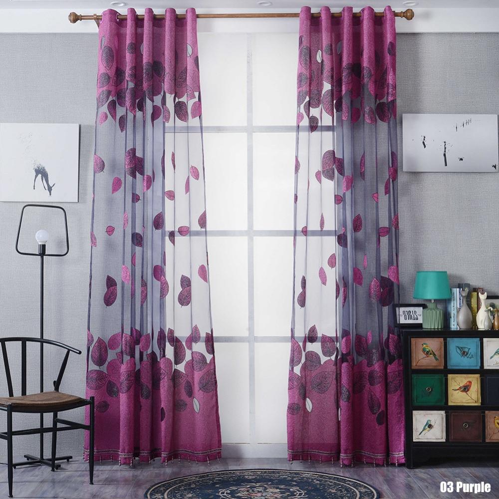 New Hot Window Kitchen Bathroom Curtain Door Divider Sheer