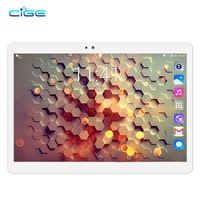 CIGE 10.1 inch New Tablet PC Smart phone Call Dula SIM Octa core 1920*1200 HD 5.0MP 4GB 64GB Bluetooth GPS Android 7.0 pc tablet