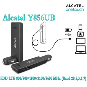 Lot of 20pcs unlocked alcatel one touch Y856 y856ub 4g car wifi router 4g cpe dongle 4g mifi router Pocket wifi