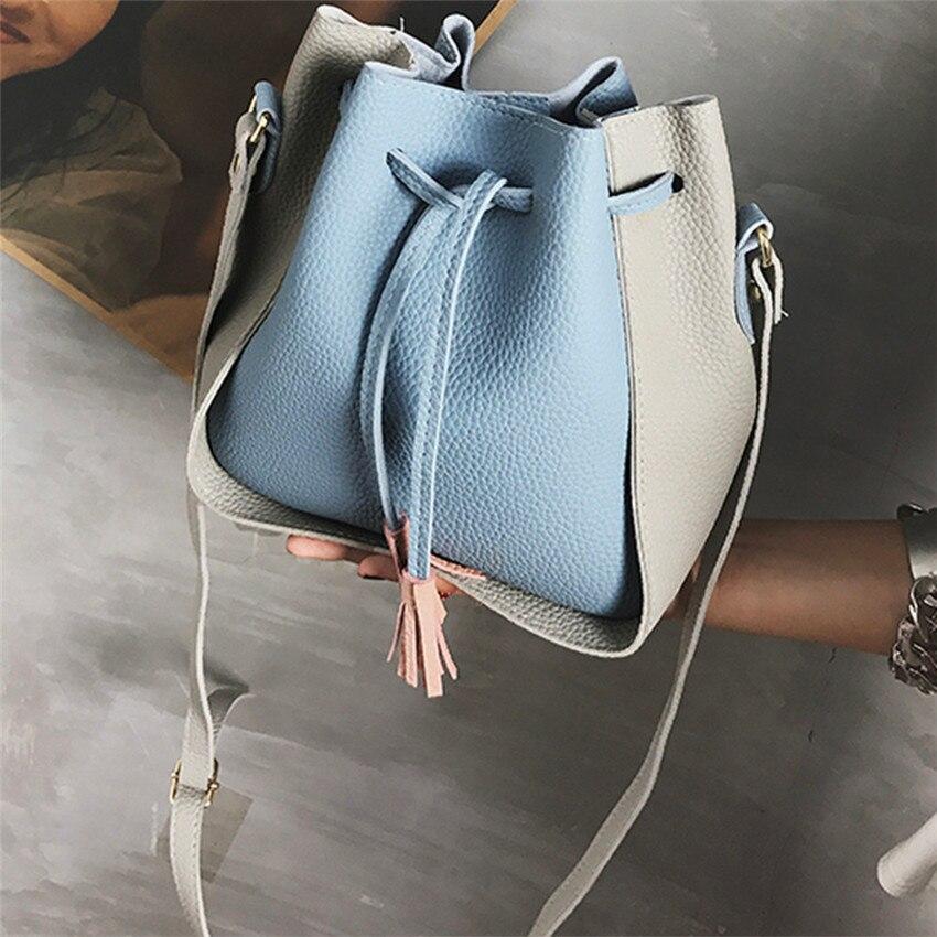 2018 Для женщин модные сумки Высокое качество сумка дамы кошелек сумка Для женщин Новые поступления предсказал сумки ведро