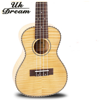 Guitar Small Ukulele 23 Inch 4 Strings Full Flame Maple Classical Guitar Acoustic Guitar Profession Musical Instruments UC-A6