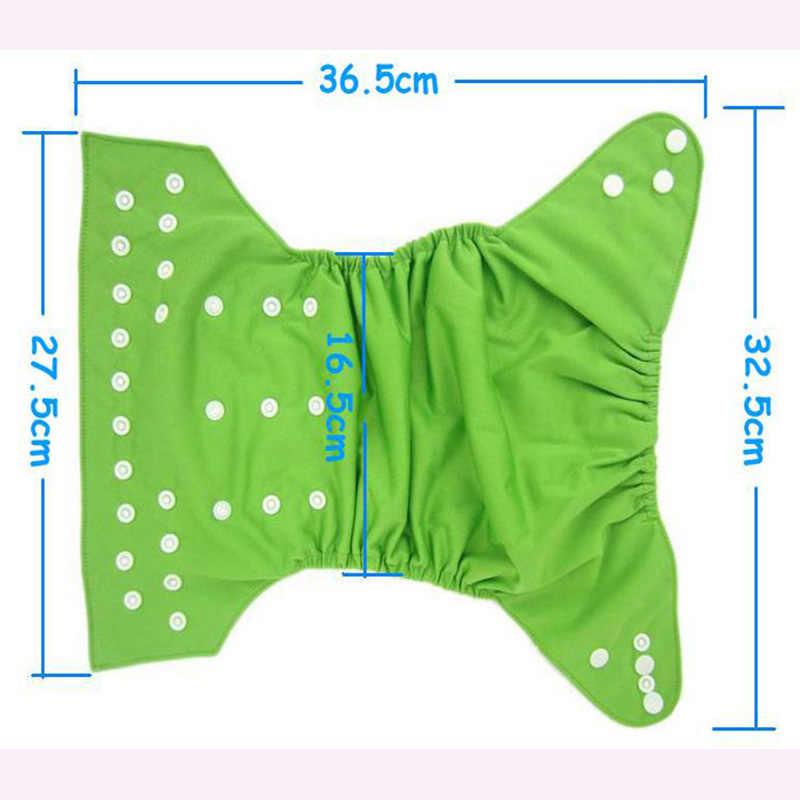 Capa de fralda de pano para bebê soild cor reutilizável & impermeável & respirável bebê lavável fraldas caber 3-15kg uma série