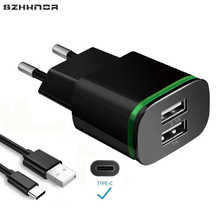 USB C 3 1 Charger 2A Fast Charging Adapter + Type C charg for Huawei P20 P20 Pro P20 Lite Nova 3e 2S Honor 10 9 View 10 V10 cheap SZHXNOR 5V 2 1A Universal Samsung Xiaomi Lenovo MEIZU SONY Nokia Motorola Blackberry A C Source mobile phone charger Desktop