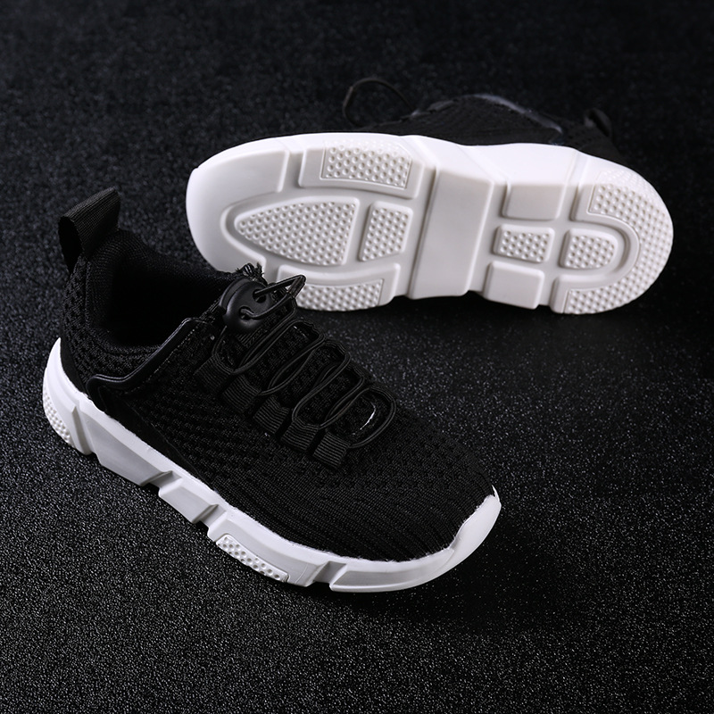 Girl Sneakers Mesh Air Lightweight Massage Gingham Fashion Boys Sports Running Sneakers Children School Tenis Shoes