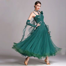 Ballroom Waltz Competiton Dress For Women Stage Waltz Tango Dancing Wear Lady's Standard Ballroom Dance Dresses