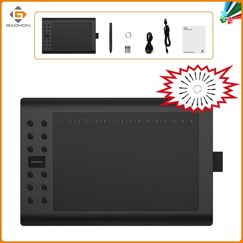 GAOMON M106K 12 HotKey Qrafik Rəsm Tablet İncəsənət Boyama - Kompüter periferikler - Fotoqrafiya 2
