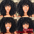 New Arrived Good Quality Cheap Black Afro Curly wigs Synthetic Lace Front Wigs Glueless Synthetic Lace Front Wig for black women