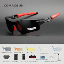 COMAXSUN Professional Polarized Cycling Glasses Bike Goggles Fishing Outdoor Sports