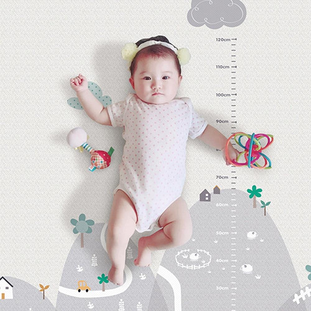 Nouveau 200*180cm Tapete Infantil 1cm épaisseur bébé tapis tapis de jeu mousse Puzzle tapis enfant en bas âge ramper tapis de jeu couverture pour bébé - 2