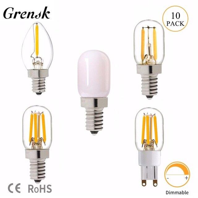 C7 Led Bulb >> Us 11 99 20 Off Grensk T20 C7 E12 Led Bulb 2700k 0 5w 1w 2w Led Bulb G9 E14 Dimmable Retro Mini Led Lamp Light Edison Refrigerator 110v 220v In Led