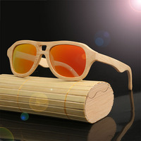 HDCRAFTER 2017 Brand Fashion Sunglasses Products Men Women Bamboo Sun Glasses Polarized Lens Wooden Frame Handmade