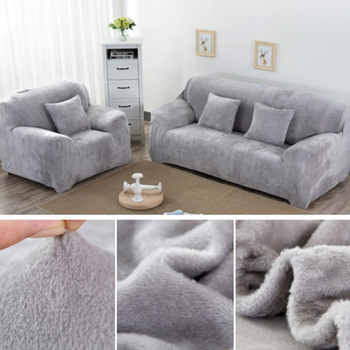 Polyester Couch Cover Saddle Cover Plush Hotel Beautiful Home Dustproof DIY Slipcover Economic Clean Sofa Cover Stretch Office